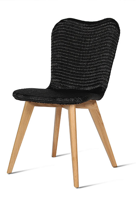 Vincent Sheppard Lily Dining Chair Oak Base